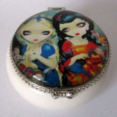 Alice and Snow White trinket box